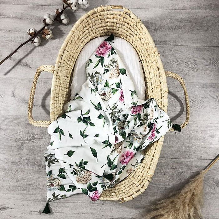 kocyk-otulacz-bambus-vintage-flowers